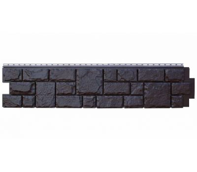 Цокольный сайдинг Grand Line Екатерининский Камень Уголь от производителя Я Фасад по цене 365.00 р