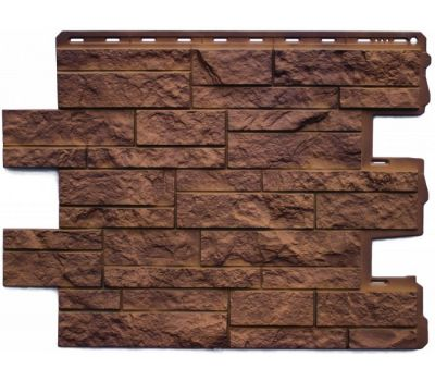 Фасадные панели (цокольный сайдинг) КОЛЛЕКЦИЯ Камень Шотландский Блекберн от производителя Альта-профиль по цене 530.00 р
