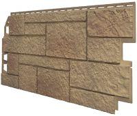 Фасадные панели (Цокольный Сайдинг) VOX Sandstone Светло-коричневый