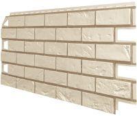 Фасадные панели (Цокольный Сайдинг) VOX Vilo Brick Слоновая-кость