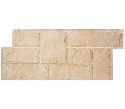 Фасадные панели (цокольный сайдинг) коллекция ЭКО-2 Гранит Марсель - Кедр от производителя Т-сайдинг по цене 534.00 р