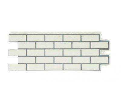 Фасадные панели состаренный кирпич  Пломбирный от производителя Grand Line по цене 380.00 р