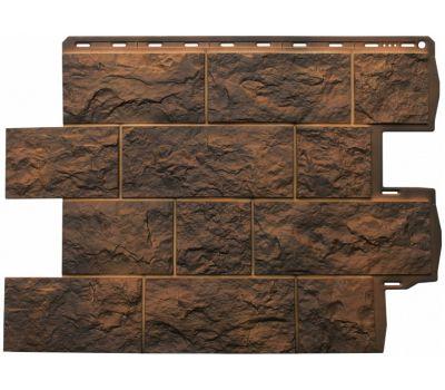 Фасадные панели (цокольный сайдинг) КОЛЛЕКЦИЯ ТУФ Иранский от производителя Альта-профиль по цене 530.00 р