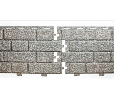 Цокольный сайдинг коллекция Кирпич - Сильвер Меланж от производителя Tecos по цене 500.00 р
