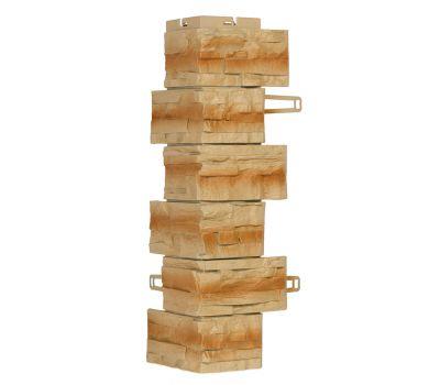 Угол для цокольного сайдинга Скалистый камень - Буффало от производителя Royal Stone по цене 518.64 р