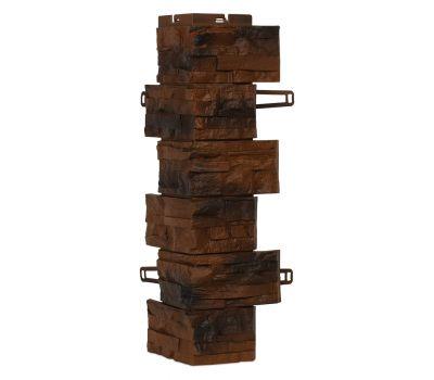 Угол для цокольного сайдинга Скалистый камень - Калгари от производителя Royal Stone по цене 518.64 р