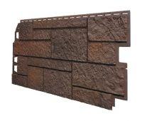 Фасадные панели (Цокольный Сайдинг) VOX Vilo SANDSTONE Коричневый