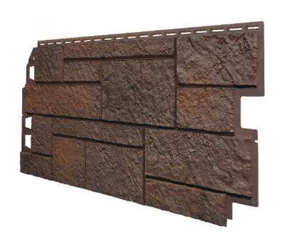 Фасадные панели (Цокольный Сайдинг) VOX Vilo SANDSTONE Коричневый от производителя VOX по цене 280.00 р