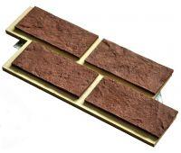 Фасадная плитка «Замковый кирпич с расшивкой шва»