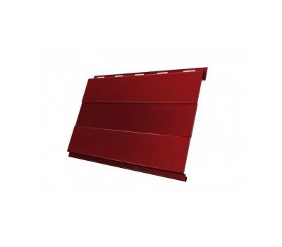 Металлический сайдинг Вертикаль (prof) 0,45 PE RAL 3011 Коричнево-красный от производителя Grand Line по цене 450.00 р