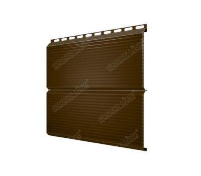 Металлический сайдинг ЭкоБрус Gofr Drap 0.45 от производителя Grand Line по цене 405.00 р