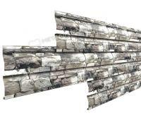 Металлический сайдинг МП СК-14х226 (ECOSTEEL-01-Белый Камень ПР-0.5)