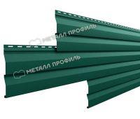 Металлический сайдинг МП СК-14х226 (ПЭ-01-6005-0.5) Зеленый мох