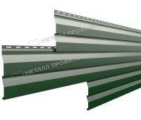 Металлический сайдинг МП СК-14х226 (PURMAN-20-6005-0.5) Зеленый мох