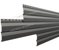 Металлический сайдинг МП СК-14х226 (PURMAN-20-7024-0.5) Серый графит