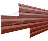 Металлический сайдинг МП СК-14х226 (VikingMP-01-3011-0.45) Коричнево-красный