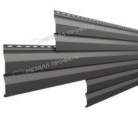 Металлический сайдинг МП СК-14х226 (VikingMP-01-7024-0.45) Серый графит