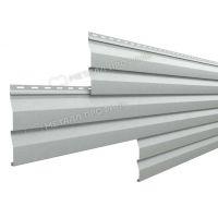 Металлический сайдинг МП СК-14х226 NormanMP (ПЭ-01-9006-0.5) Белый алюминий