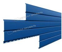 Металлический сайдинг Lбрус-15х240 (ПРМ-03-5005-0.5) Синий насыщенный