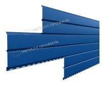 Металлический сайдинг Lбрус-15х240 (PURMAN-20-5005-0.5) Синий насыщенный