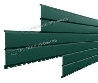Металлический сайдинг Lбрус-15х240 (VikingMP-01-6005-0.45) Зеленый мох