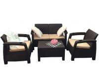Диван и кресла Terrace Set