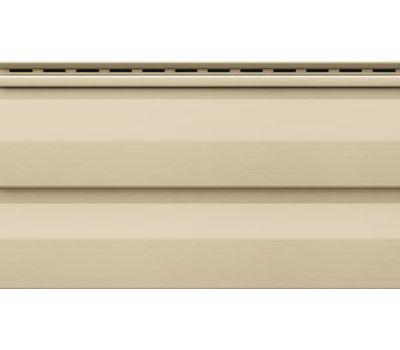 Виниловый сайдинг - Корабельный брус, Бежевый от производителя VOX по цене 168.00 р