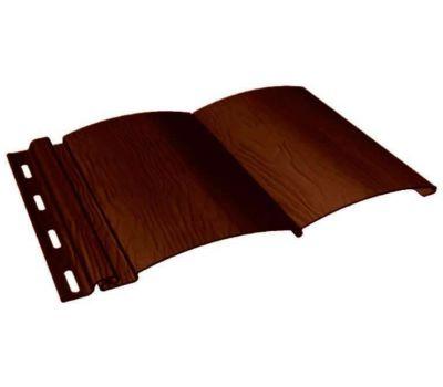 Виниловый сайдинг - BlockHouse, Темный дуб от производителя Fineber по цене 535.00 р