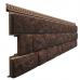 Фасадные панели - серия LUX BERGART под камень Кедровый орех  от производителя Docke по цене 299.00 р