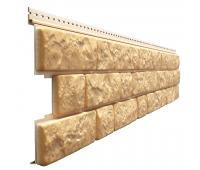 Фасадные панели - серия LUX BERGART под камень Пекан