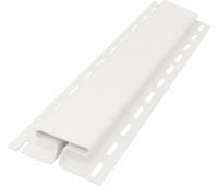 Н-профиль соединительный 3050 мм,Белый