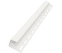 J-профиль 3050 мм Белый