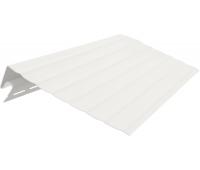 Ветровая (карнизная) доска 3050 мм Белая