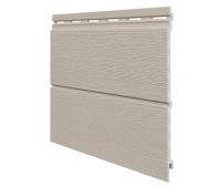Виниловый сайдинг панель двойная Kerrafront Modern Wood - Claystone
