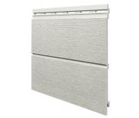 Виниловый сайдинг панель двойная Kerrafront Modern Wood - Pearl Grey