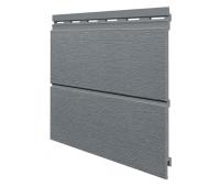Виниловый сайдинг панель двойная Kerrafront Modern Wood - Quartz Grey