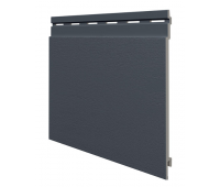 Виниловый сайдинг панель одинарная Kerrafront Trend - Soft Anthracite