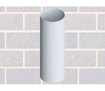 Труба водосточная Белая 4м от производителя Альта-профиль по цене 670.00 р
