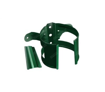 Кронштейн трубы (на дерево) Зеленый (RAL 6005) от производителя Grand Line по цене 150.00 р