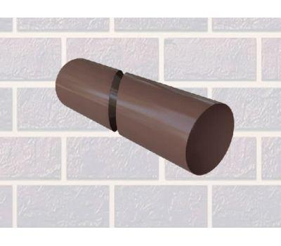 Труба водосточная коричневая 4м от производителя Альта-профиль по цене 709.00 р