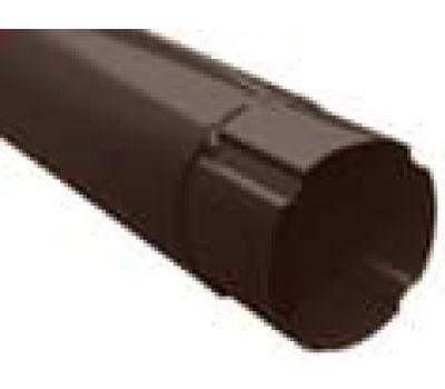 Труба водосточная 3м Коричневый (RAL 8017) от производителя МеталлПрофиль по цене 1 759.00 р