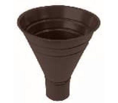Воронка водосборная Коричневый (RAL 8017) от производителя МеталлПрофиль по цене 1 775.00 р