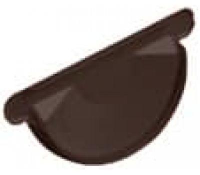 Заглушка желоба Коричневый (RAL 8017) от производителя МеталлПрофиль по цене 150.00 р