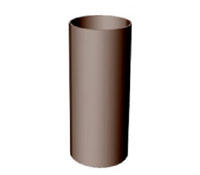 Труба водосточная 3 м Premium ПВХ Шоколад от производителя Docke по цене 545.00 р